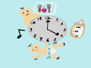 赤ちゃん, 寝かしつけ, 習慣